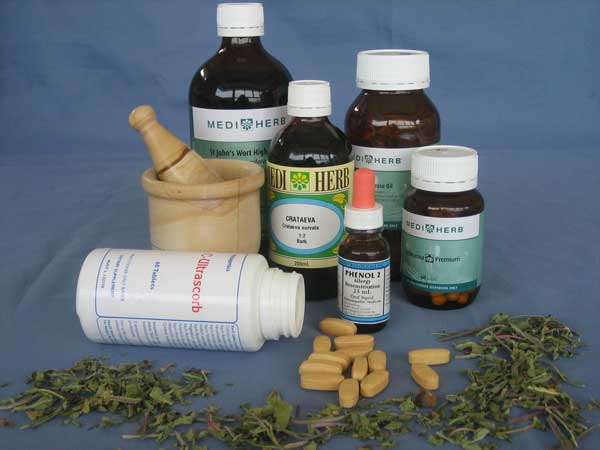 Naturopathic products at Shire Natural Health & Fertility Burraneer NSW Australia